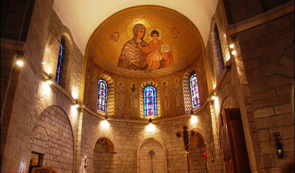 Con Monseñor Munilla en Tierra Santa (9/32): Ahi tienes a tu Madre
