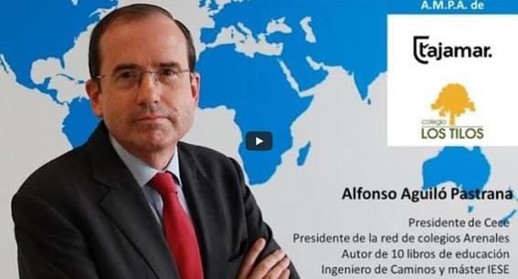 """Conferencia de Alfonso Aguiló sobre la nueva """"Ley educación: luces y sombras (de la Ley Celaá)"""""""