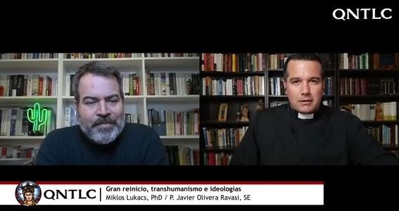 'Gran reinicio, transhumanismo e ideologías'