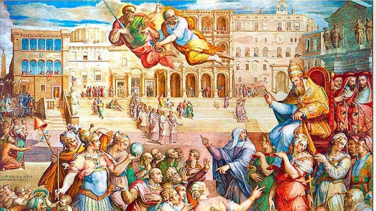 Historia de la Iglesia VI – EL COMIENZO DE LA DECADENCIA