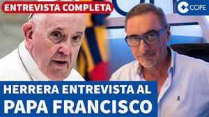 Herrera entrevista al Papa Francisco en exclusiva